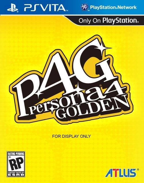 Atlus Persona 4 Golden PS Vita Game