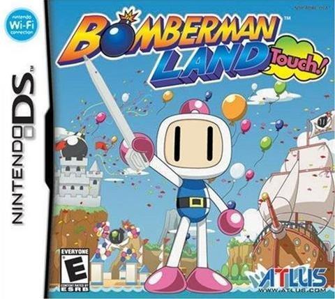 Atlus Bomberman Land Touch Nintendo DS Game