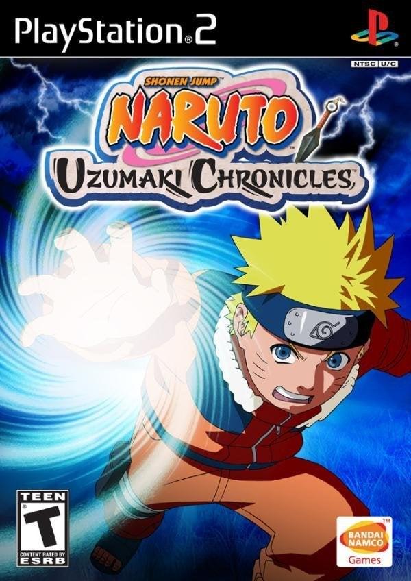 Bandai Naruto Uzumaki Chronicles PS2 Playstation 2 Game