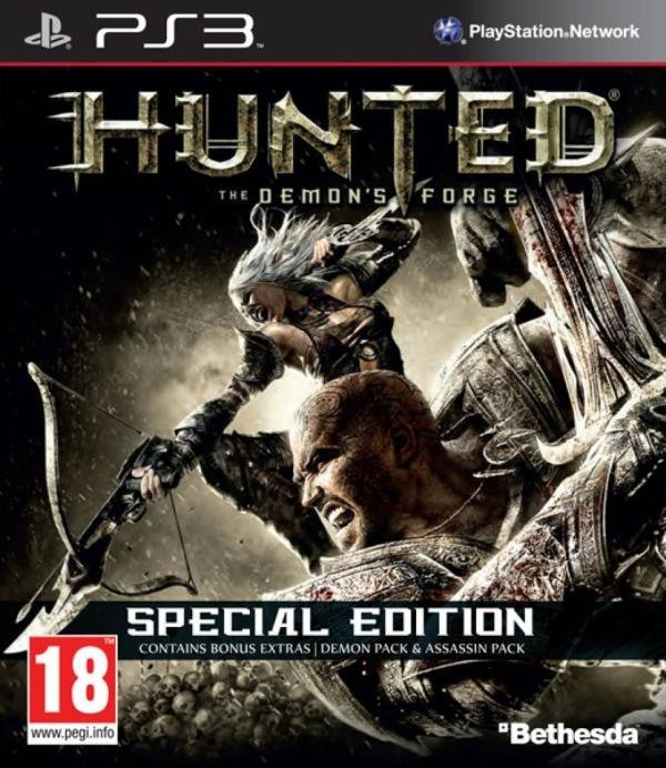 Bethesda Softworks Hunted The Demons Forge Special Edition PS3 Playstation 3 Game
