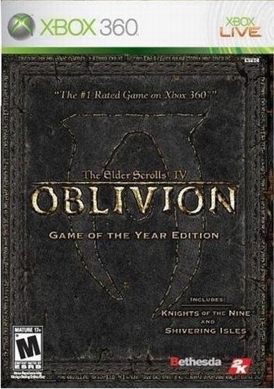 Bethesda Softworks Oblivion The Elder Scrolls 4 Game of the Year Xbox 360 Game