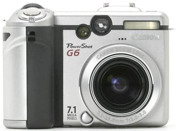 Canon Powershot G6 Digital Camera