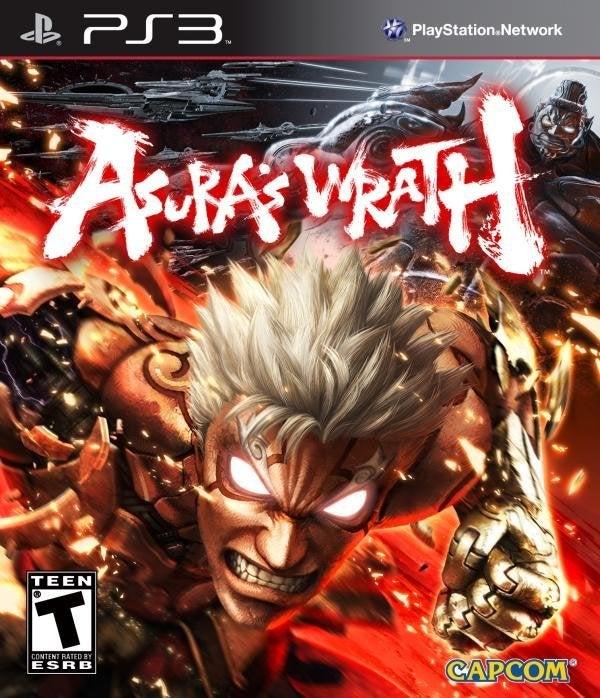 Capcom Asuras Wrath PS3 Playstation 3 Game