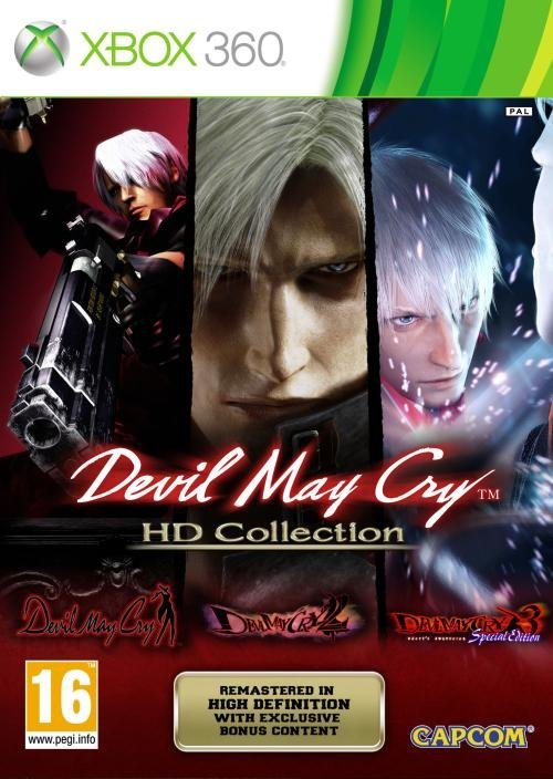 Capcom Devil May Cry HD Collection Xbox 360 Game