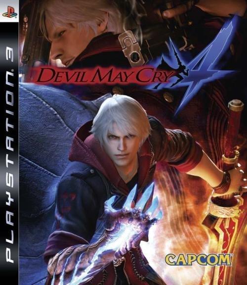 Capcom Devil May Cry 4 PS3 Playstation 3 Game