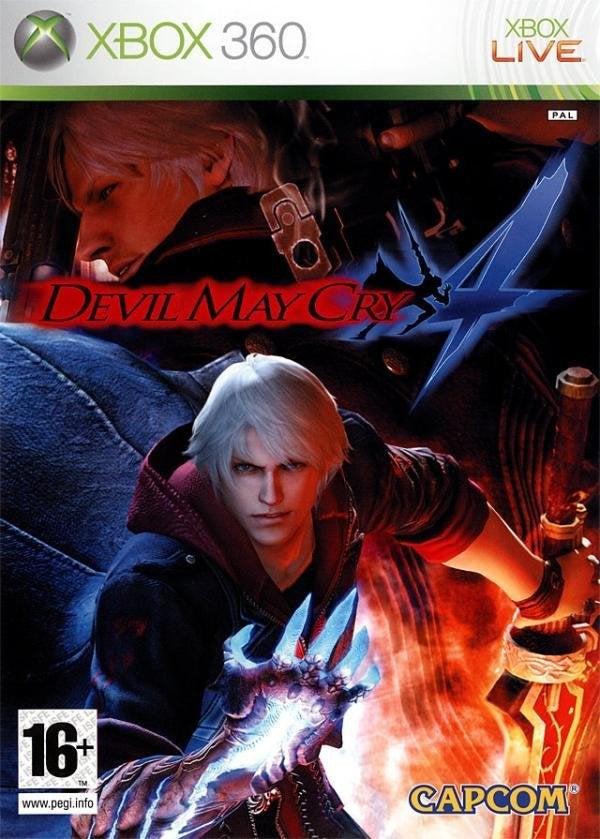 Capcom Devil May Cry 4 Xbox 360 Game