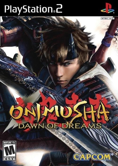 Capcom Onimusha Dawn of Dreams PS2 Playstation 2 Game