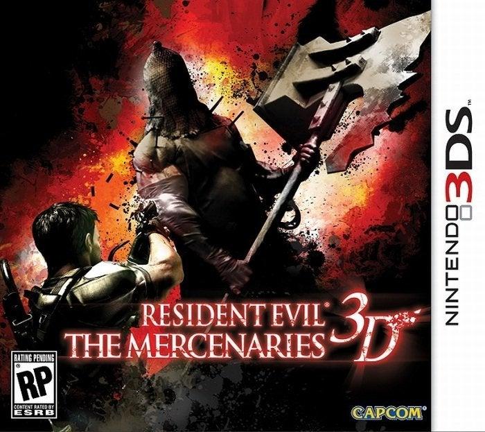 Capcom Resident Evil The Mercenaries 3D Nintendo 3DS Game