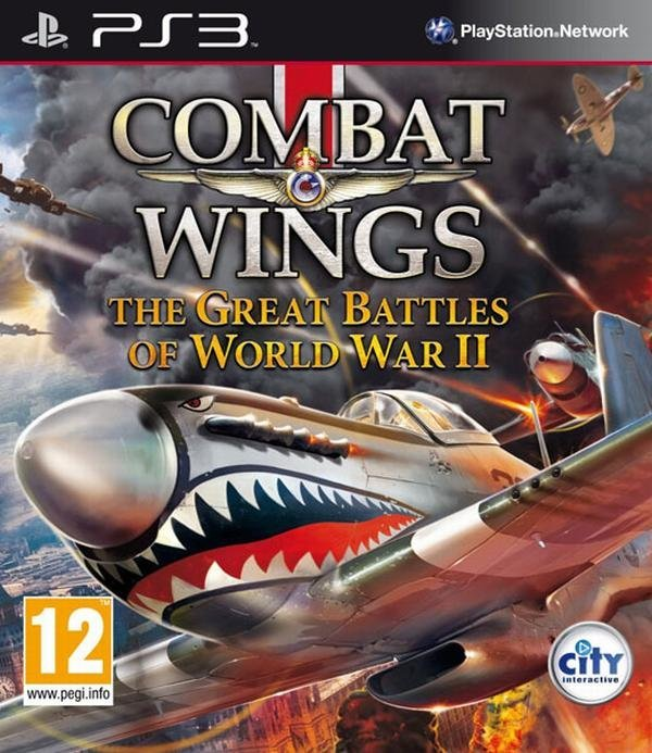 City Interactive Combat Wings The Great Battles of World War II PS3 Playstation 3 Game