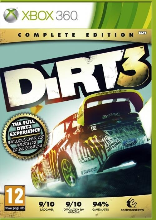 Codemasters Dirt 3 Complete Edition Xbox 360 Game