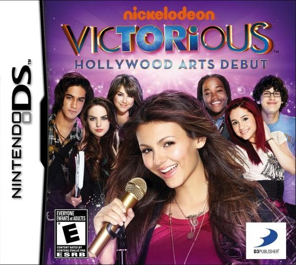 D3 Victorious Hollywood Arts Debut Nintendo DS Game