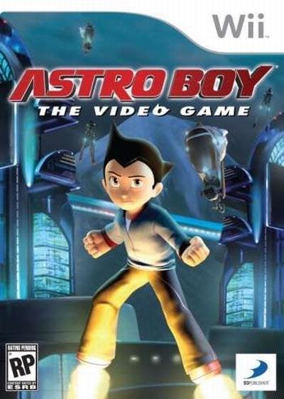 D3 Astro Boy Nintendo Wii Game
