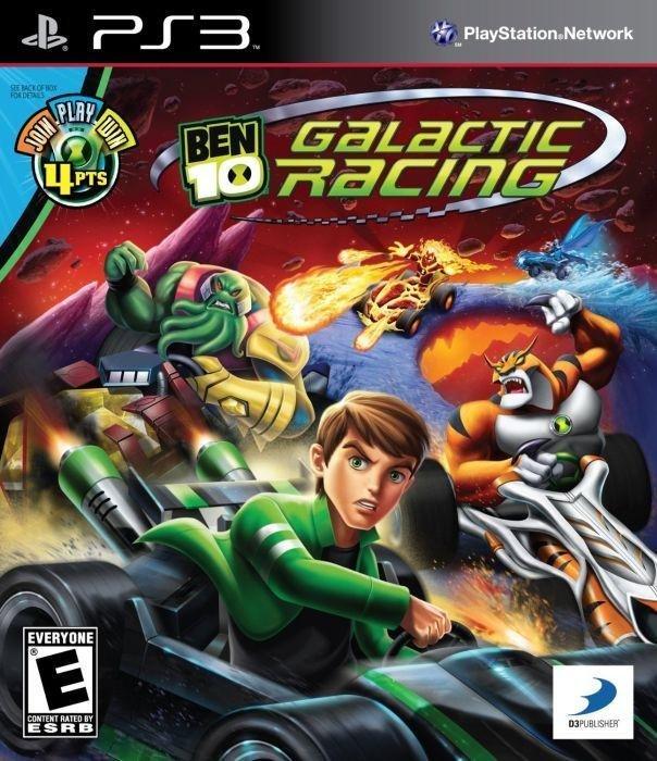 D3 Ben 10 Galactic Racing PS3 Playstation 3 Game