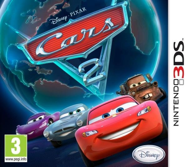 Disney Cars 2 Nintendo 3DS Games