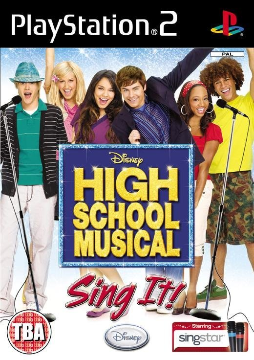Disney High School Musical Sing It PS2 Playstation 2 Game