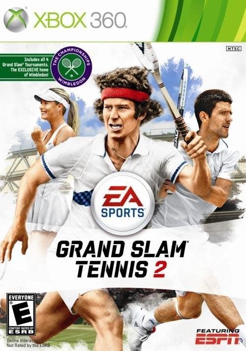 Electronic Arts Grand Slam Tennis 2 Xbox 360 Game