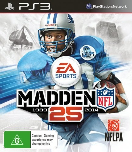 Electronic Arts Madden NFL 25 PS3 Playstation 3 Game
