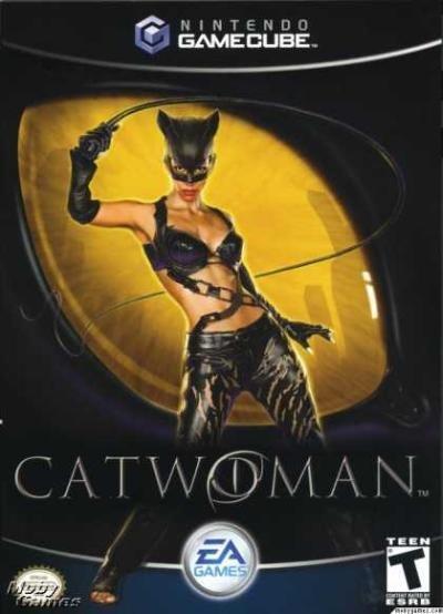 Electronic Arts Catwoman Nintendo GameCube Game