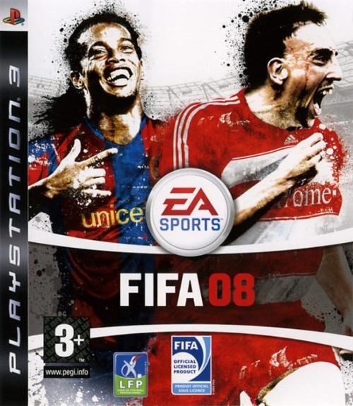 Electronic Arts Fifa 2008 PS3 Playstation 3 Game