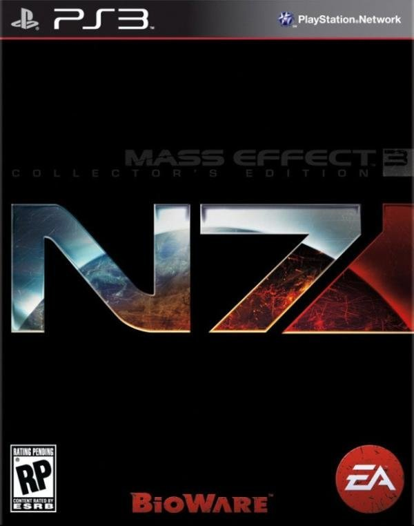 Electronic Arts Mass Effect 3 Collectors Edition PS3 Playstation 3 Game