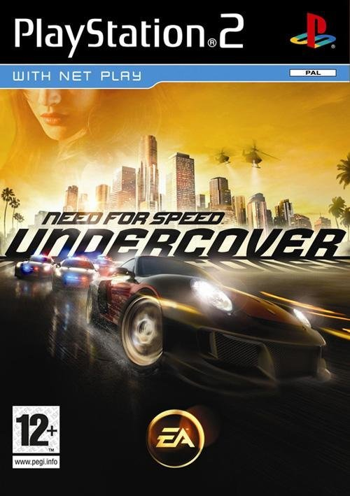 Electronic Arts Need For Speed Undercover PS2 Playstation 2 Game
