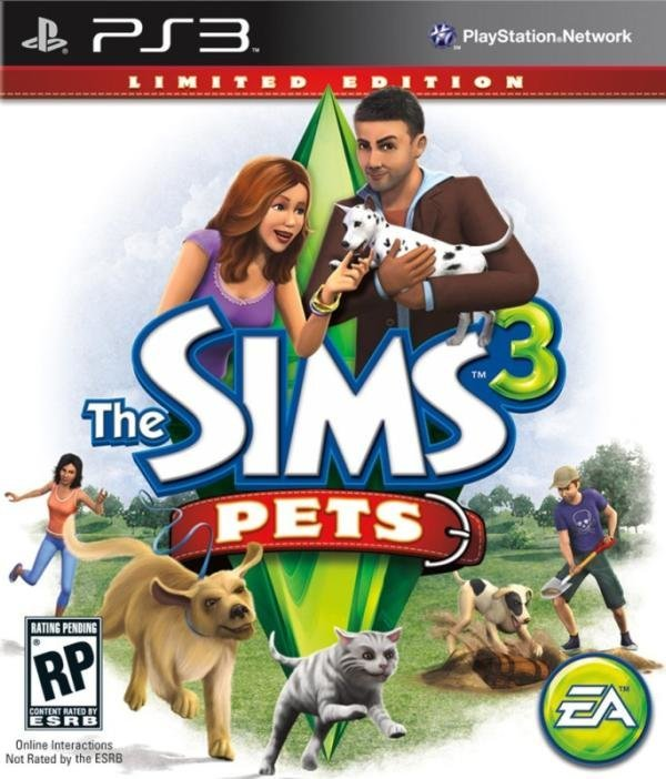 Electronic Arts Sims 3 Pets Limited Edition PS3 Playstation 3 Game