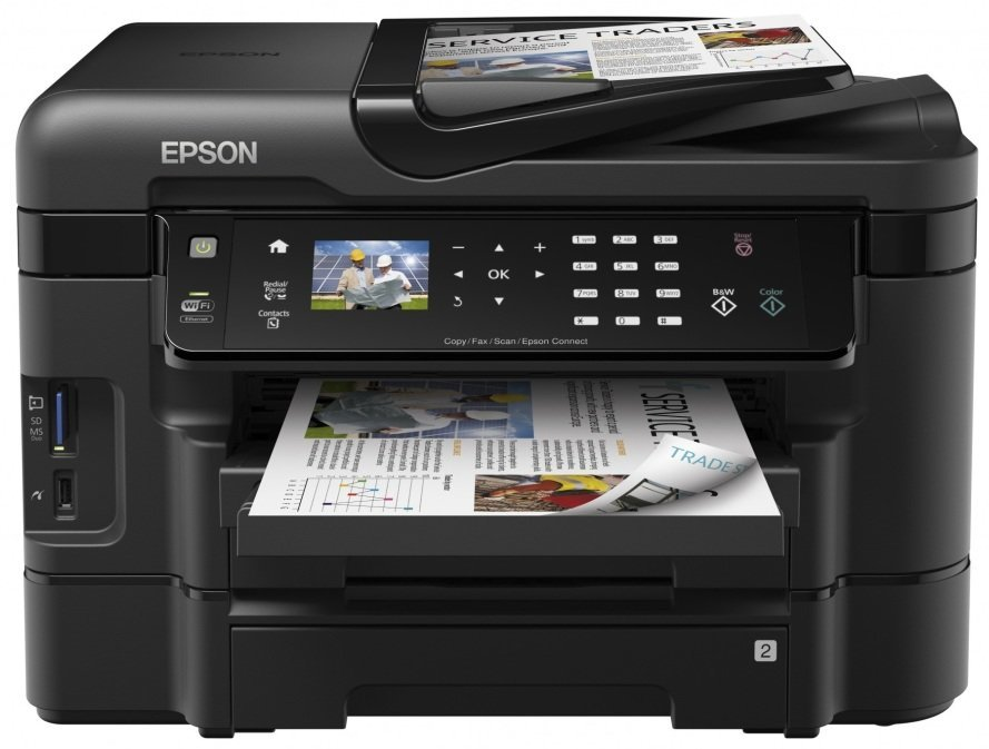 Epson WorkForce WF-3530 Printer