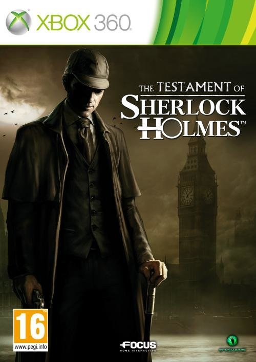 Focus The Testament of Sherlock Holmes Xbox 360 Game