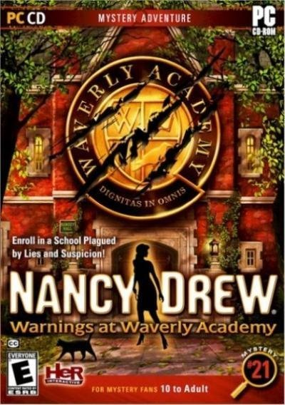 Her Interactive Nancy Drew Warnings At Waverly Academy PC Game
