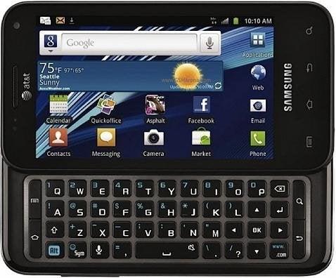 Samsung Captivate Glide i927 Mobile Phone