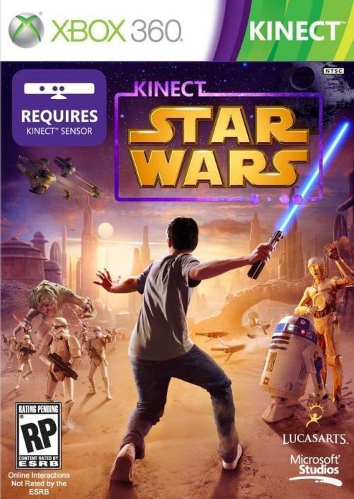 Lucas Art Kinect Star Wars Xbox 360