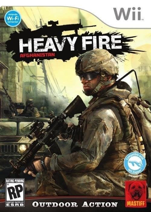 Mastiff Heavy Fire Afghanistan Nintendo Wii Game