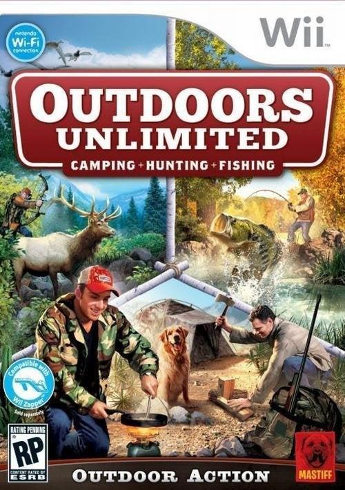 Mastiff Outdoor Unlimited Nintendo Wii Game