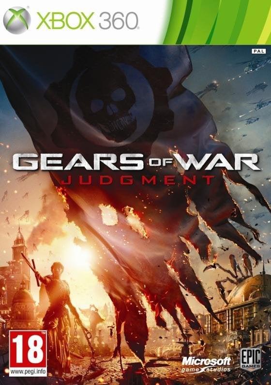 Microsoft Gears Of War Judgement Xbox 360 Game