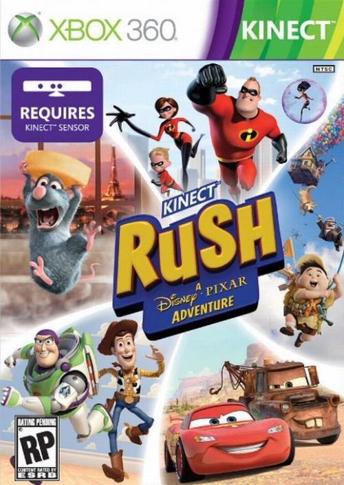 Microsoft Kinect Rush A Disney Pixar Adventure Xbox 360 Game