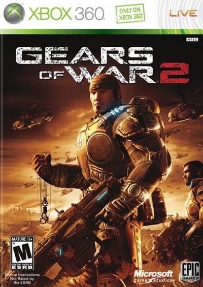 Microsoft Gears of War 2 Xbox 360 Game