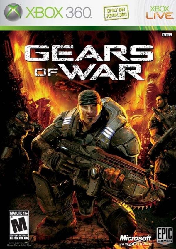 Microsoft Gears of War Xbox 360 Game