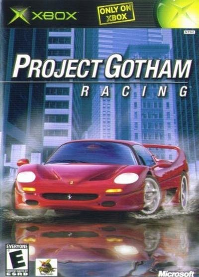 Microsoft Project Gotham Racing Xbox Game