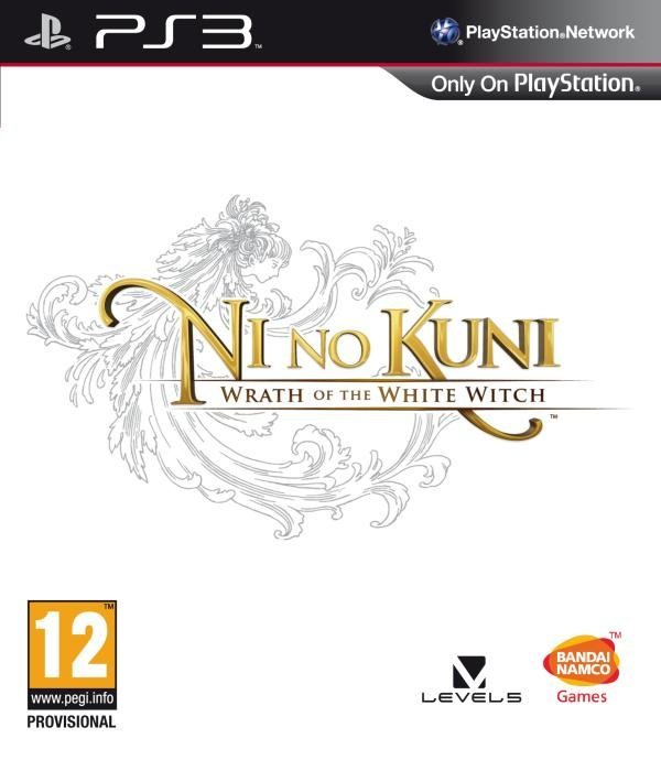 Namco Ni No Kuni Wrath of the White Witch PS3 Playstation 3 Game
