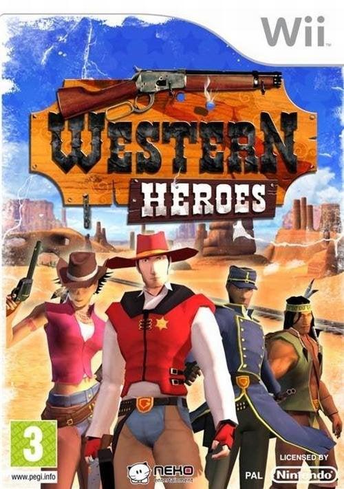 Neko Western Heroes Nintendo Wii Game