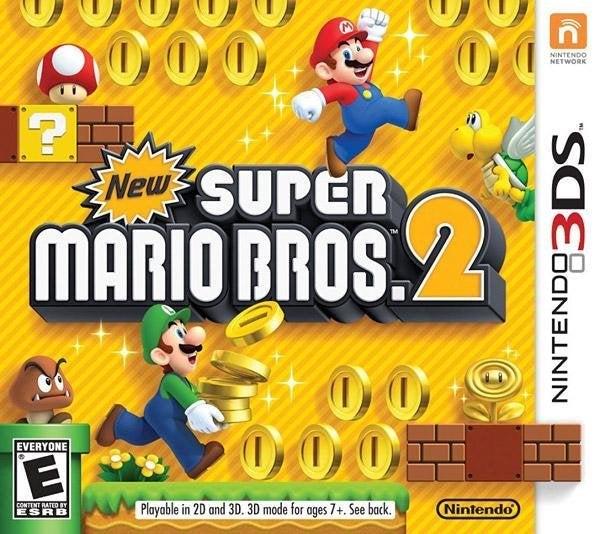 Nintendo New Super Mario Bros 2 Nintendo 3DS Game