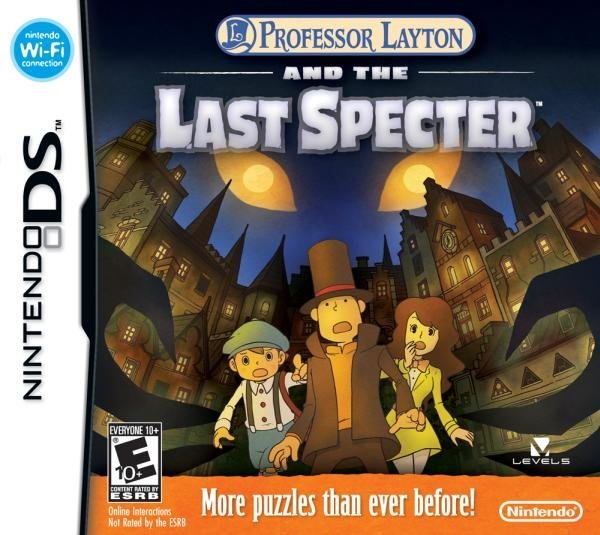 Nintendo Professor Layton and the Last Specter Nintendo DS Game