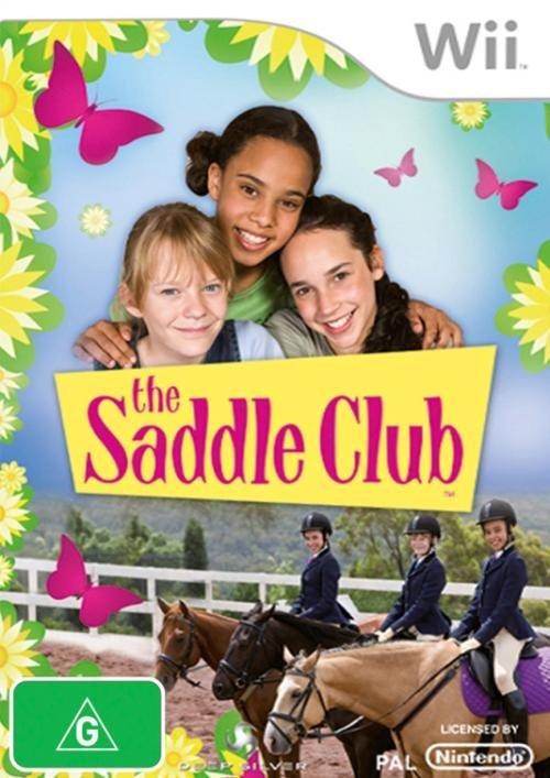 Nintendo The Saddle Club Nintendo Wii Game