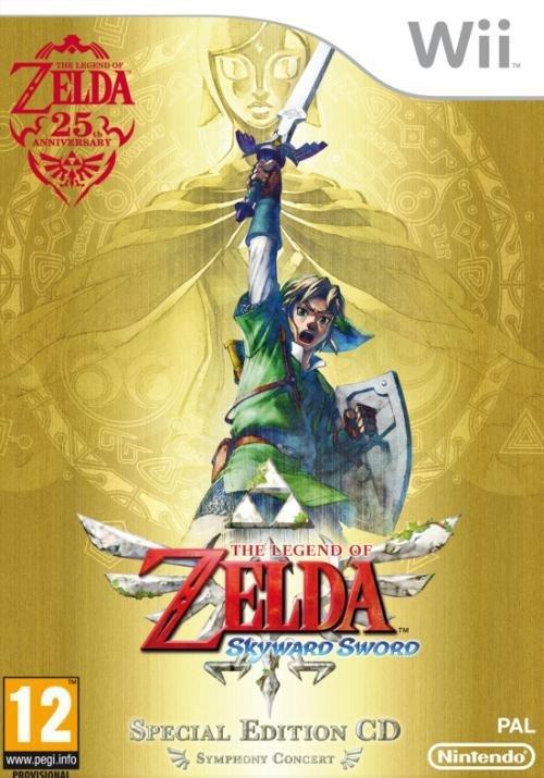 Nintendo The Legend of Zelda Skyward Sword Limited Edition Nintendo Wii Game