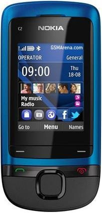 Nokia C2-05 Mobile Cell Phone