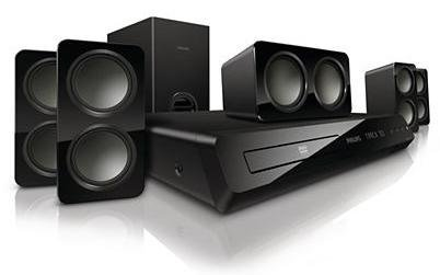 Philips HTS3531 5.1 Channel DVD Home Theatre