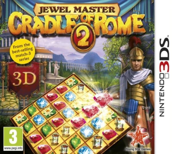 Rising Star Games Cradle of Rome 2 Nintendo 3DS Game