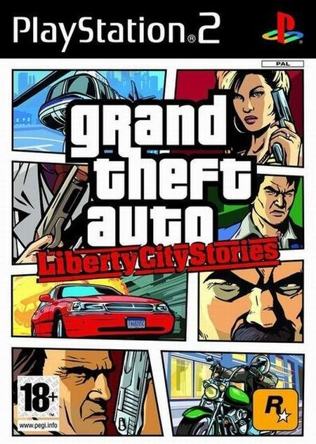 Rockstar Grand Theft Auto Liberty City Stories PSP Game