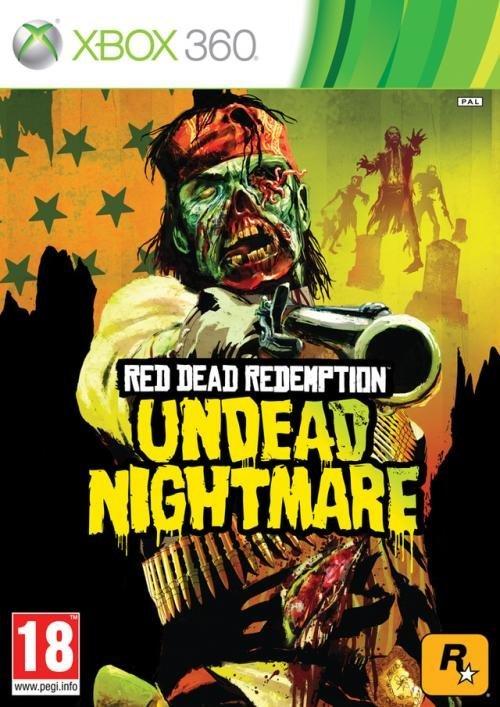 Rockstar Red Dead Redemption Undead Nightmare Xbox 360 Game