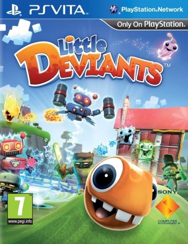 SCE Little Deviants PS Vita Games